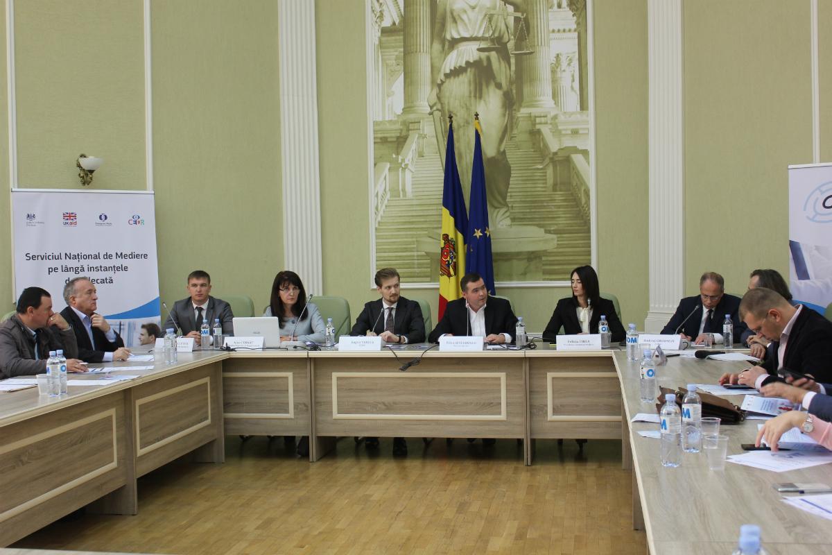 Lansarea mecanismului de mediere pe lângă instanțele de judecată (5)